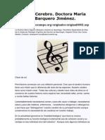 Musica y Cerebro. Dra. Maria Barquero