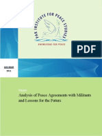 173585821 Analysis of Peace Agreements With Militants by Sohail Habib Tajik