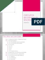 UNIDAD 6 Circuitos Secuenciales Sincronos