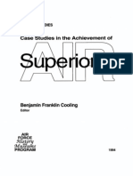 Case Studies in the Achievement of Air Superiority