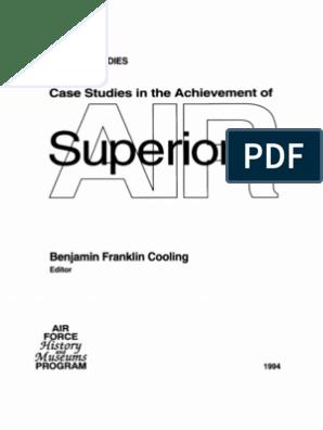 Case Studies in the Achievement of Air Superiority | Air