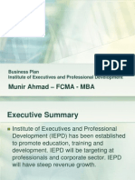 Business Plan - IEPD