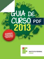 guiadecursos2013_IFPR