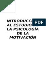 UNED Psicología de la Motivación - Conocimientos Mínimos Tema 1