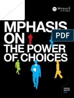 Q4 2012 Mphasis Annual Report