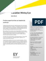 Canadian Mining Eye Q2 2013