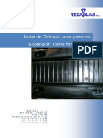 Catalogo Junta Calzada