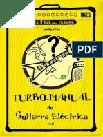 Turbo manual de guitarra electrica