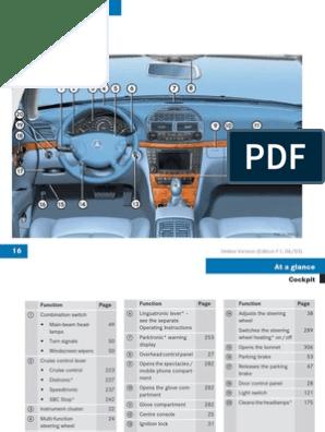 Mercedes E-Class W211 user manual | Seat Belt | Lock (Security Device)