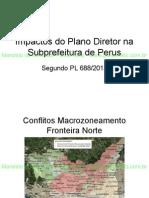 Impactos Do Plano Diretor Na Subprefeitura de Perus