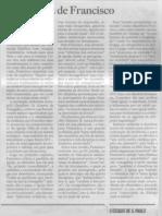 A Urgencia de Francisco Oesp 20131201