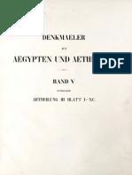 Lepsius, Carl Richard - Denkmäler aus Aegypten und Aethiopien - Band 05 - Neues Reich