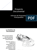 Presupuestos Gestion Documental