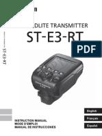 Canon Speedlite Transmitter ST-E3-RT -- En