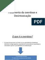 Tratamento Da Overdose e Desmame