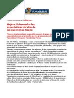 com 0496, 031205 Eugenio Hernández Flores mejora expectativa de vida.