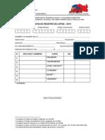 Ficha de Registro de Copae