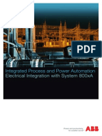 3BSE062087 en Integrated Process and Power Automation - Electrical Integration With System 800xA