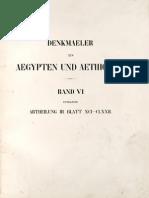 Lepsius, Carl Richard - Denkmäler aus Aegypten und Aethiopien - Band 06 - Neues Reich
