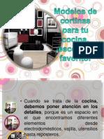 Modelos de Cortinas Para Tu Cocina, Escoge Tu Favrito