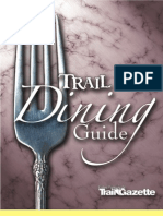 Estes Park Dining Guide 2009