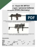 Heckler & Kock HK MP7A1 Submachine Gun (Germany)8