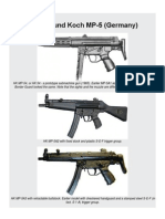 Heckler and Koch MP-5 Submachine Gun (Germany)1