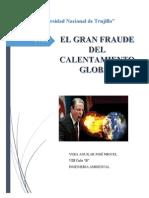 El Gran Fraude Del Calentamiento Global