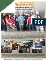 1A. Viaje Misionero 2009.