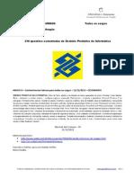 Banco do Brasil - Escriturário (edital Cesgranrio) 216 questões comentadas de INFORMÁTICA www.informaticadeconcursos.com.br