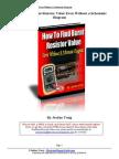 Find Burnt Resistor