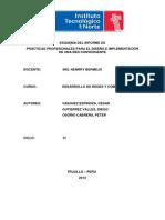 Tesis - Desarrollo de Redes - T5 -CESAR