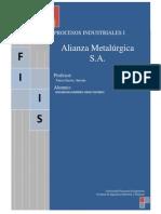 Informe Alianza Metalurgica
