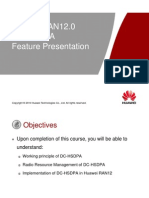 WCDMA HSPA  RAN12 DC-HSDPA Feature ISSUE 1.00.ppt
