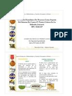Control estadistico de procesos + HACCP en arroz