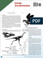Aves do Período Cretáceo da Era Mesozoica