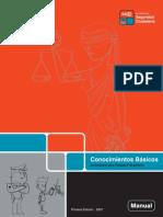 Manual de Conocimientos Básicos de Derecho para Policías Preventivos