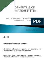 Fundamentals of Information System