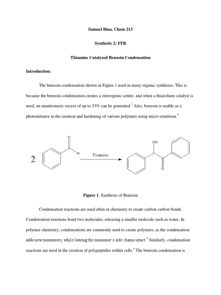 tetraphenylcyclopentadienone lab report