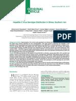 Hepatitis C Virus Genotype Distribution0 77