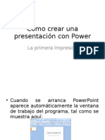 Power Point en Blog