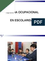 Terapia Ocupacional en Escolaridad