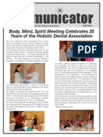 HDA Newsletter - Fall 2012