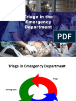 Triage in the Emergency Department With Posters