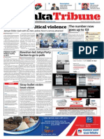 Dhaka Tribune print edition