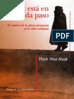 Thich Nhat Hanh - La Paz Esta en Cada Paso