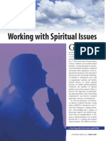 Working with Spiritual Issues