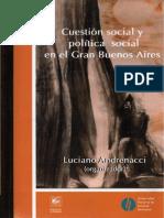 80240077 Andrenacci Cuestion Social y Politica Social en El Gran Buenos Aires