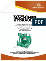 Hydraulic Machines Textbook by