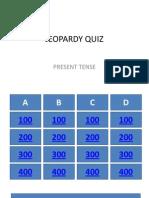 Jeopardy Quiz